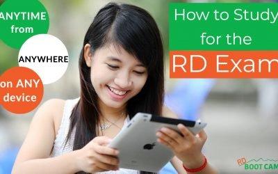 How Do I Study For The RD Exam?